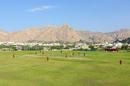The Al Amerat landscape presents a scenic backdrop for WCL Division Three, Denmark v Uganda, ICC World Cricket League Division Three, Al Amerat, November 9, 2018