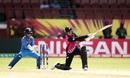 Suzie Bates sweeps, India v New Zealand, Women's World T20, Group B, Guyana, November 9, 2018
