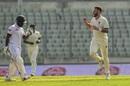 Kyle Jarvis' early strikes set Bangladesh back, Bangladesh v Zimbabwe, 2nd Test, Dhaka, 1st day, November 11, 2018