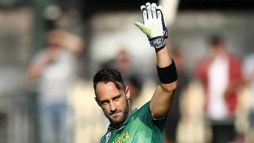 Faf du Plessis led from the front