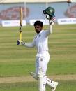 Mominul Haque brings up his hundred, Bangladesh v Zimbabwe, 2nd Test, Dhaka, 1st day, November 11, 2018