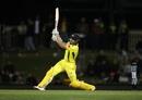 Shaun Marsh was in full flow on the way to his hundred, Australia v South Africa, 3rd ODI, Hobart, November 11, 2018