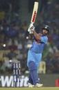 Shikhar Dhawan goes for the big one, India v West Indies, 3rd T20I, Chennai, November 11, 2018