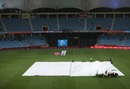 Rain interrupted New Zealand's chase, Pakistan v New Zealand, 3rd ODI, Dubai, November 11, 2018