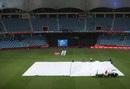 Rain interrupted New Zealand's chase, Pakistan v New Zealand, 3rd ODI, Dubai, November 11, 2018