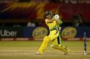 Alyssa Healy swats one through the leg side, Australia v Ireland, Women's World T20, Guyana, Group B, November 11, 2018