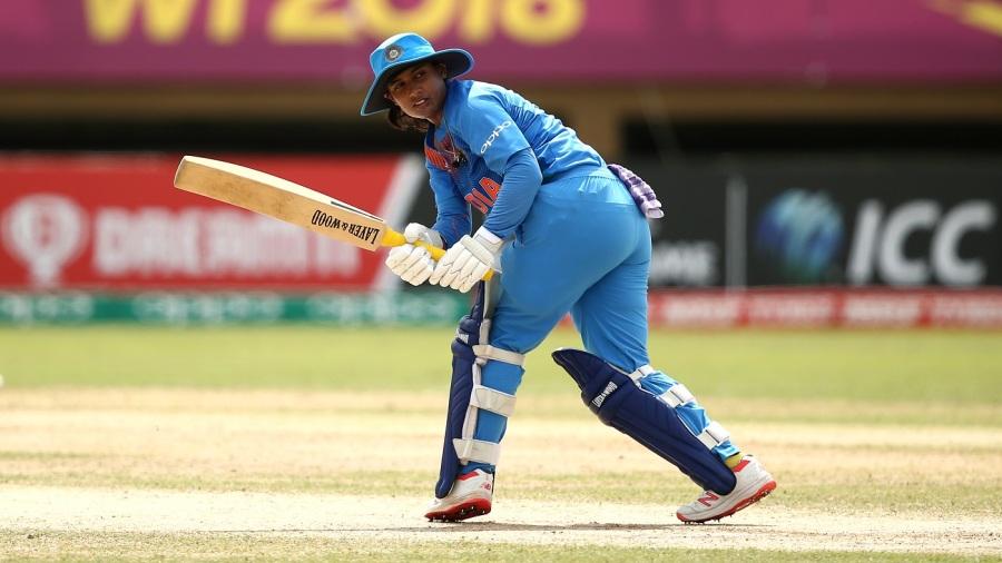 Mithali Raj glances one fine down the leg side