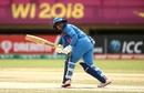 Mithali Raj glances one fine down the leg side, India v Pakistan, Women's World T20, Guyana, Group B, November 11, 2018