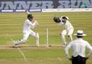 Mushfiqur Rahim goes for a pull, Bangladesh v Zimbabwe, 2nd Test, Mirpur, 2nd day, November 12, 2018