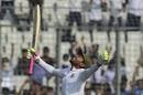 Mushfiqur Rahim celebrates his double-century, Bangladesh v Zimbabwe, 2nd Test, Mirpur, 2nd day, November 12, 2018