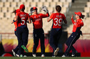 Amy Jones and Nat Sciver combined for a breakthrough, England v Bangladesh, Women's World T20, Group A, St Lucia, November 12, 2018