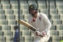 Brendan Taylor kept Zimbabwe ticking with a half-century, Bangladesh v Zimbabwe, 2nd Test, Mirpur, 3rd day, November 13, 2018