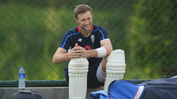 Joe Root cuts a relaxed figure at training