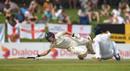 Rory Burns dives for his ground as short leg has a shy, Sri Lanka v England, 2nd Test, Pallekele, 1st day, November 14, 2018