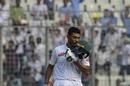 Mahmudullah celebrates reaching a hundred, Bangladesh v Zimbabwe, 2nd Test, Mirpur, 4th day, November 14, 2018