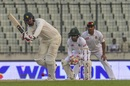 Brendan Taylor works one through midwicket, Bangladesh v Zimbabwe, 2nd Test, Dhaka, 4th day, November 14, 2018