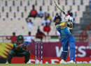 Shashikala Siriwardene goes over the top, Bangladesh v Sri Lanka, Women's World T20, Group A, St Lucia, November 14, 2018