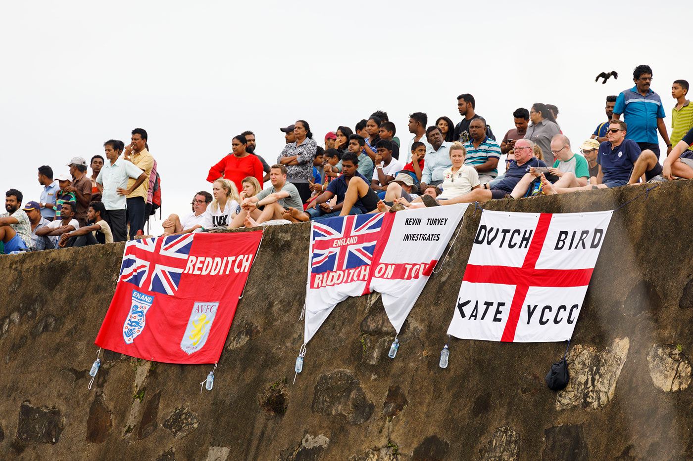 The cricket world must be told of the glories of club English football