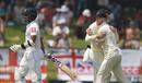 Ben Stokes celebrates taking a stunning catch to remove Kusal Mendis, Sri Lanka v England, 2nd Test, Pallekele, 2nd day, November 15, 2018