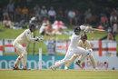 Roshen Silva drives through the off side, Sri Lanka v England, 2nd Test, Pallekele, 2nd day, November 15, 2018