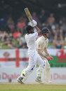 Roshen Silva pulls through the leg side, Sri Lanka v England, 2nd Test, Pallekele, 2nd day, November 15, 2018