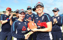 Linsey Smith receives her first England cap, England v Bangladesh, Women's World T20, Group A, St Lucia, November 12, 2018