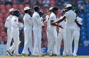 Dilruwan Perera removed nightwatchman Jack Leach, Sri Lanka v England, 2nd Test, Pallekele, 3rd day, November 16, 2018