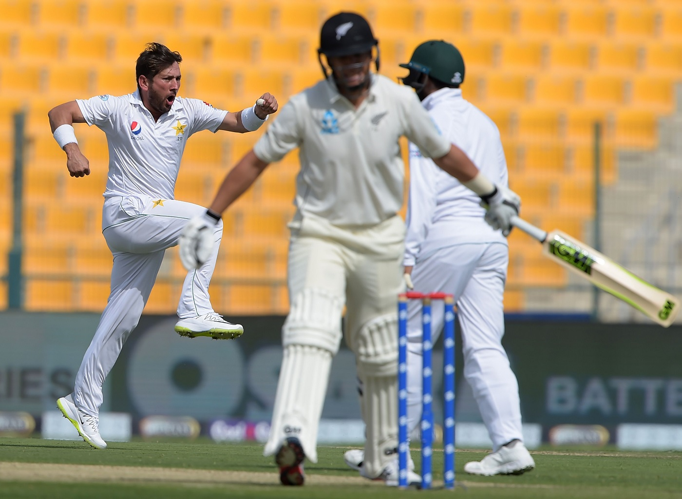 Pakistan finish Day 1 at 59/2 after bowling New Zealand out for just 153