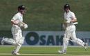Kane Williamson and Henry Nicholls kept New Zealand ticking, Pakistan v New Zealand, 1st Test, Abu Dhabi, 1st day