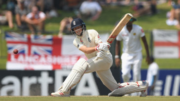 Joe Root made good use of the sweep shot