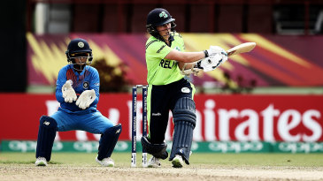 Ireland aren't yet able to compete with the top teams but they have talented batsmen like Clare Shillington showcasing their skills at the World T20