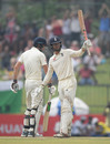Ben Foakes acknowledges his fifty, Sri Lanka v England, 2nd Test, Pallekele, 3rd day, November 16, 2018