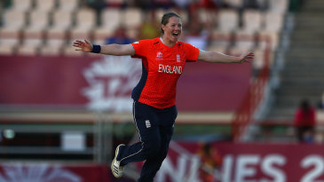 Anya Shrubsole bagged a hat-trick against South Africa