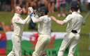 Jack Leach and Ben Foakes combined for a stumping, Sri Lanka v England, 2nd Test, Pallekele, 4th day, November 17, 2018