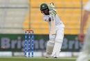 Asad Shafiq punches down the ground, Pakistan v New Zealand, 1st Test, Abu Dhabi, 2nd day, November 17, 2018