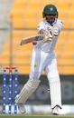 Babar Azam swats one away, Pakistan v New Zealand, 1st Test, Abu Dhabi, 2nd day, November 17, 2018