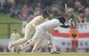 Angelo Mathews was trapped lbw for 88, Sri Lanka v England, 2nd Test, Pallekele, 4th day, November 17, 2018