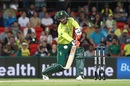Heinrich Klaasen looks to ramp over fine leg, Australia v South Africa, only T20I, Carrara Oval, November 17, 2018