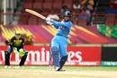 Smriti Mandhana crunches a pull to the boundary, Australia v India, Women's World T20, Group B, Providence, November 17, 2018