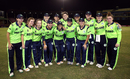 The Ireland women's team pose for a photo, Ireland v New Zealand, Group B, Women's World T20 2018, Guyana, November 17, 2018