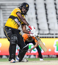 Chris Gayle goes after the ball, Jozi Stars v Nelson Mandela Bay Giants, MSL 2018, Johannesburg, November 17, 2018