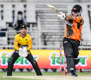 Ben Duckett pulls the ball away, Jozi Stars v Nelson Mandela Bay Giants, MSL 2018, Johannesburg, November 17, 2018