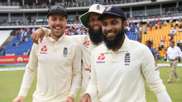 Jack Leach, Moeen Ali and Adil Rashid shared 19 of Sri Lanka's 20 wickets