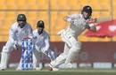 Henry Nicholls plays on the leg side, Pakistan v New Zealand, 1st Test, Abu Dhabi, 3rd day, November 18, 2018