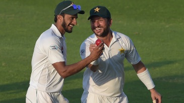 Hasan Ali and Yasir Shah bagged five wickets each