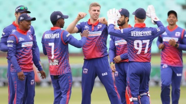 Anrich Nortje ripped through Heat with a four-wicket burst