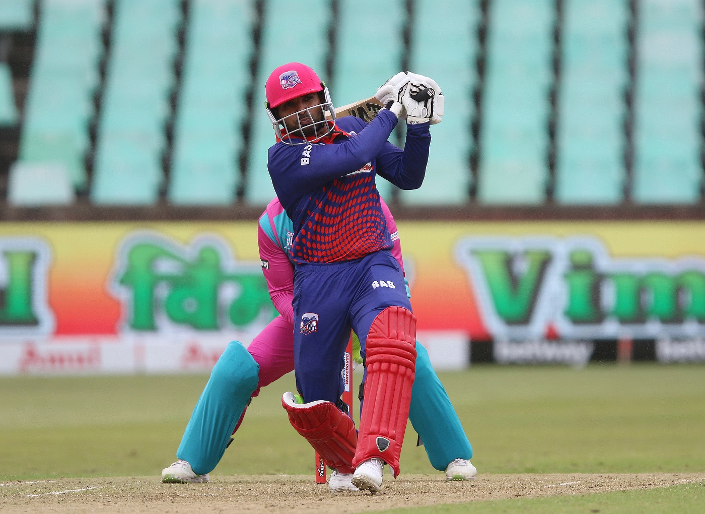 Asif Ali stars with 33-ball 80 during the Mzansi Super League
