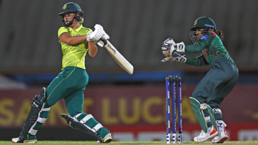 Dane van Niekerk clobbers one into the leg side