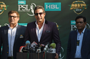 Wasim Akram speaks at the PSL 2019 draft, Islamabad, November 20, 2018