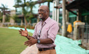 Viv Richards at the Coolidge Cricket Ground, Antigua, November 20, 2018